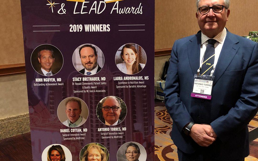 Antonio Torres,  Premio a la innovación quirúrgica