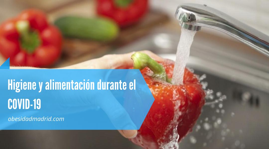 higiene y alimentación durante el COVID-19