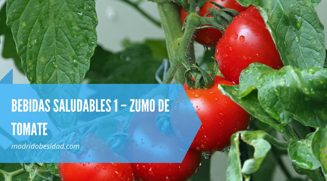 RECETAS VERANO BEBIDAS SALUDABLES 1 – ZUMO DE TOMATE