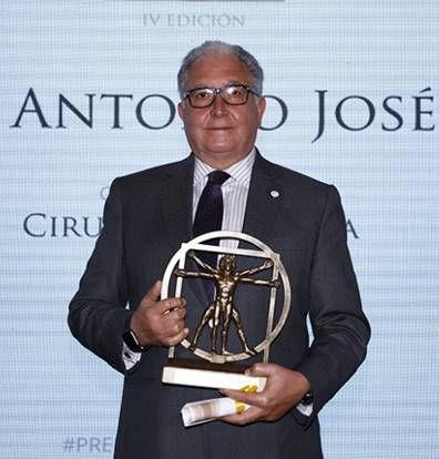 Prof. Dr. Antonio Torres, Premio de Medicina Siglo XXI 2021