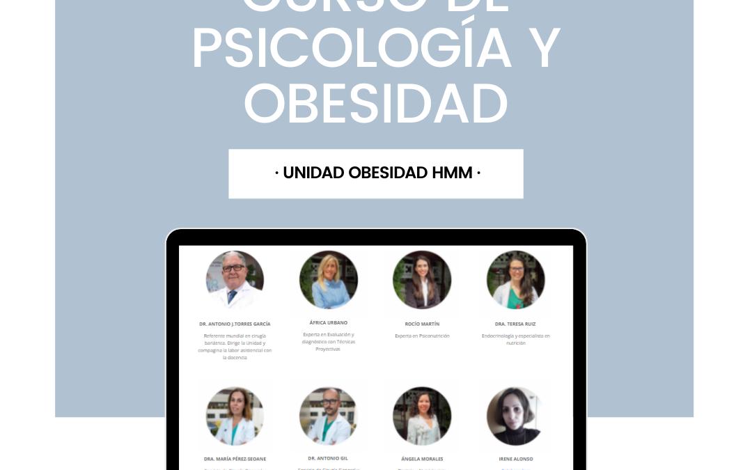 CURSO DE PSICOLOGÍA Y OBESIDAD